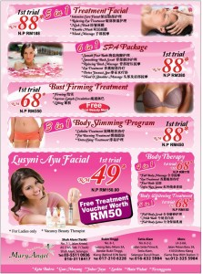Mary Angel beauty promotion
